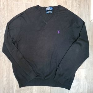 Polo Ralph Lauren V Neck Sweater XL